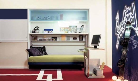 แต่งห้องนอนขนาดเล็ก ให้สวยทันสมัยเหมาะกับวัยรุ่น02