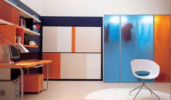 แต่งห้องนอนขนาดเล็ก ให้สวยทันสมัยเหมาะกับวัยรุ่น09