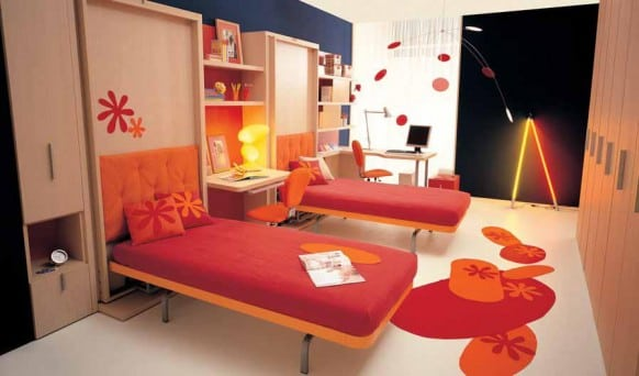 แต่งห้องนอนขนาดเล็ก ให้สวยทันสมัยเหมาะกับวัยรุ่น08