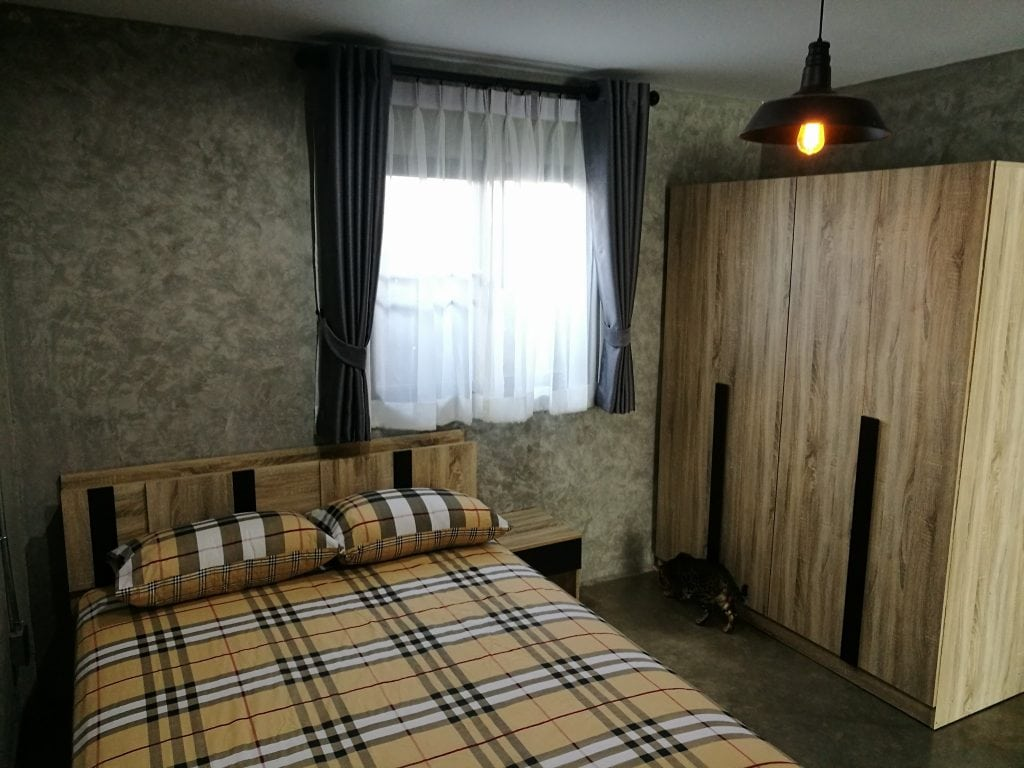 รีโนเวทห้องแถว ชั้นเดียว 1 ห้องนอน เป็นบ้านสไตย์ ลอฟท์ Loft