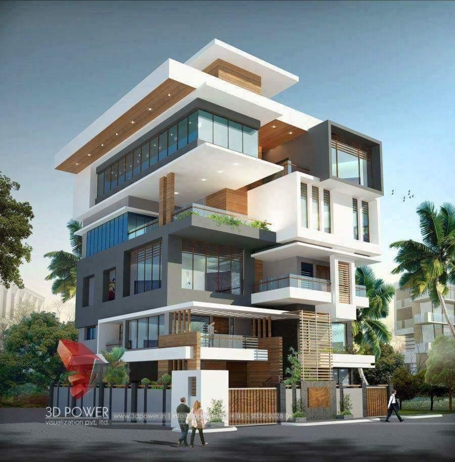 8 แบบบ้านสไตน์โมเดิ้น Modern Design สวยๆทั้งนั้น