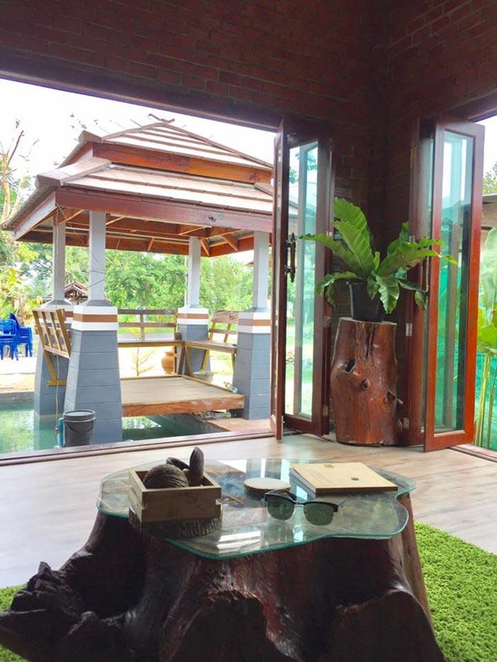 บ้านใหม่ บ้านชั้นเดียวสไตล์ไทยประยุกต์
