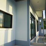 สร้างบ้านเดี่ยวสไตล์ โมเดิร์น ชั้นเดียว 3 ห้องนอน 2 ห้องน้ำ4